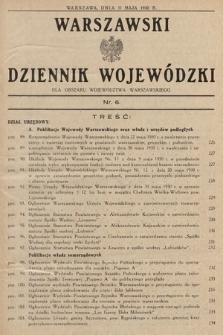 Warszawski Dziennik Wojewódzki : dla obszaru Województwa Warszawskiego. 1930, nr6