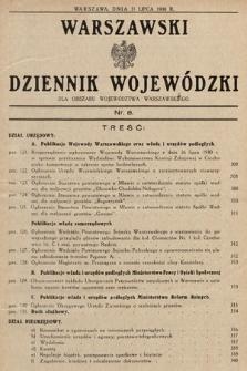 Warszawski Dziennik Wojewódzki : dla obszaru Województwa Warszawskiego. 1930, nr8