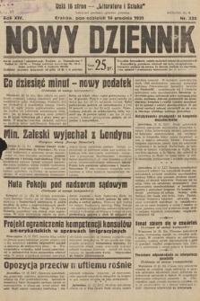 Nowy Dziennik. 1931, nr335