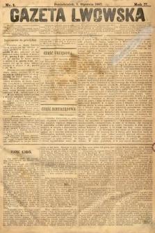 Gazeta Lwowska. 1887, nr 1