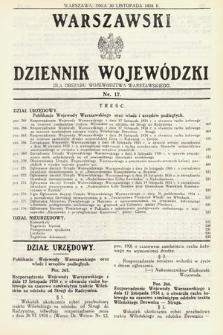 Warszawski Dziennik Wojewódzki : dla obszaru Województwa Warszawskiego. 1934, nr17