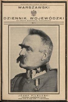 Warszawski Dziennik Wojewódzki : dla obszaru Województwa Warszawskiego. 1935, nr7