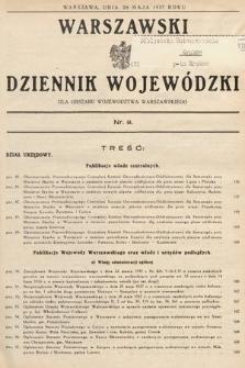 Warszawski Dziennik Wojewódzki : dla obszaru Województwa Warszawskiego. 1937, nr8
