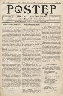 Postęp : katolickie pismo tygodniowe dla klas pracujących. 1905, nr26