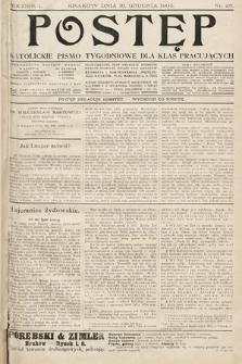 Postęp : katolickie pismo tygodniowe dla klas pracujących. 1905, nr28