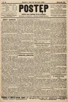 Postęp : katolickie pismo tygodniowe dla klas pracujących. 1907, nr2