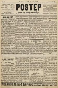 Postęp : katolickie pismo tygodniowe dla klas pracujących. 1907, nr4