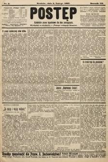 Postęp : katolickie pismo tygodniowe dla klas pracujących. 1907, nr5