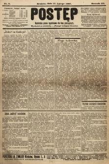 Postęp : katolickie pismo tygodniowe dla klas pracujących. 1907, nr7