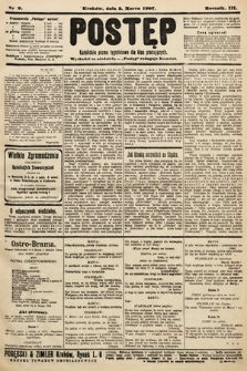 Postęp : katolickie pismo tygodniowe dla klas pracujących. 1907, nr9