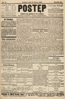 Postęp : katolickie pismo tygodniowe dla klas pracujących. 1907, nr11