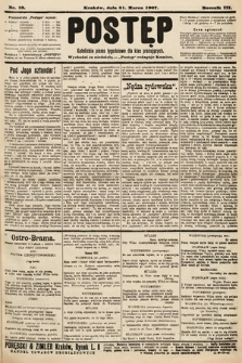 Postęp : katolickie pismo tygodniowe dla klas pracujących. 1907, nr13