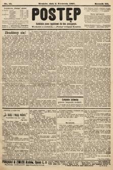 Postęp : katolickie pismo tygodniowe dla klas pracujących. 1907, nr14