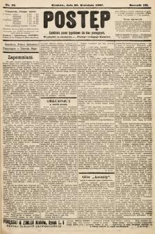 Postęp : katolickie pismo tygodniowe dla klas pracujących. 1907, nr17