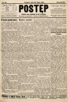 Postęp : katolickie pismo tygodniowe dla klas pracujących. 1907, nr21