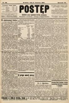 Postęp : katolickie pismo tygodniowe dla klas pracujących. 1907, nr22