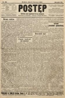 Postęp : katolickie pismo tygodniowe dla klas pracujących. 1907, nr23