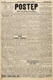 Postęp : katolickie pismo tygodniowe dla klas pracujących. 1907, nr24