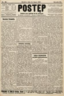 Postęp : katolickie pismo tygodniowe dla klas pracujących. 1907, nr28