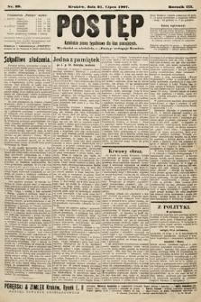 Postęp : katolickie pismo tygodniowe dla klas pracujących. 1907, nr29