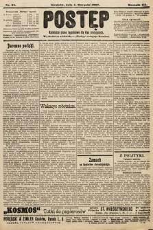 Postęp : katolickie pismo tygodniowe dla klas pracujących. 1907, nr31