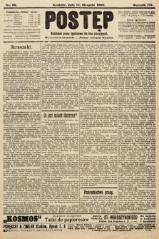 Postęp : katolickie pismo tygodniowe dla klas pracujących. 1907, nr32