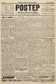 Postęp : katolickie pismo tygodniowe dla klas pracujących. 1907, nr34