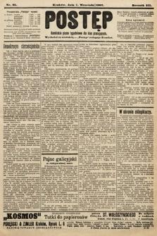 Postęp : katolickie pismo tygodniowe dla klas pracujących. 1907, nr35
