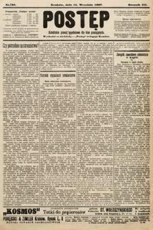 Postęp : katolickie pismo tygodniowe dla klas pracujących. 1907, nr37