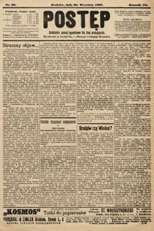 Postęp : katolickie pismo tygodniowe dla klas pracujących. 1907, nr38