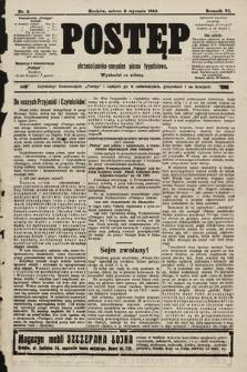 Postęp : chrześcijańsko-socjalne pismo tygodniowe. 1910, nr2