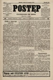 Postęp : chrześcijańsko-socjalne pismo tygodniowe. 1910, nr5
