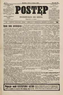 Postęp : chrześcijańsko-socjalne pismo tygodniowe. 1910, nr6