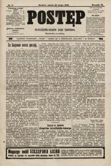 Postęp : chrześcijańsko-socjalne pismo tygodniowe. 1910, nr9