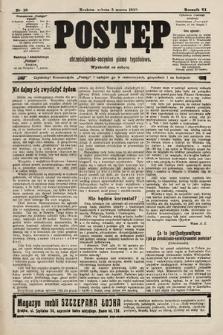 Postęp : chrześcijańsko-socjalne pismo tygodniowe. 1910, nr10