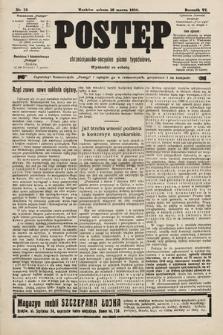 Postęp : chrześcijańsko-socjalne pismo tygodniowe. 1910, nr12