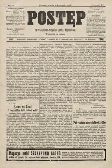 Postęp : chrześcijańsko-socjalne pismo tygodniowe. 1910, nr14