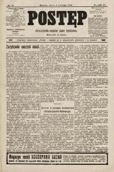 Postęp : chrześcijańsko-socjalne pismo tygodniowe. 1910, nr15