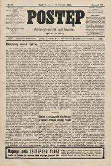 Postęp : chrześcijańsko-socjalne pismo tygodniowe. 1910, nr17