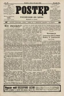 Postęp : chrześcijańsko-socjalne pismo tygodniowe. 1910, nr22