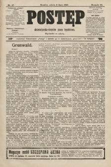 Postęp : chrześcijańsko-socjalne pismo tygodniowe. 1910, nr27