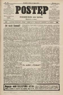 Postęp : chrześcijańsko-socjalne pismo tygodniowe. 1910, nr28