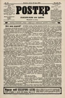 Postęp : chrześcijańsko-socjalne pismo tygodniowe. 1910, nr30