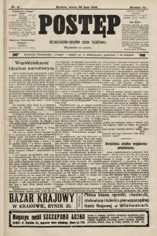 Postęp : chrześcijańsko-socjalne pismo tygodniowe. 1910, nr31