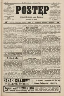 Postęp : chrześcijańsko-socjalne pismo tygodniowe. 1910, nr32