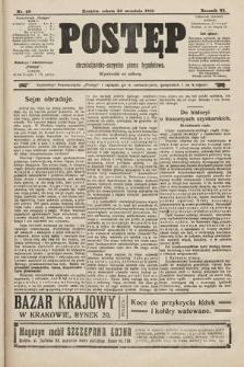 Postęp : chrześcijańsko-socjalne pismo tygodniowe. 1910, nr39