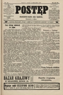 Postęp : chrześcijańsko-socjalne pismo tygodniowe. 1910, nr40