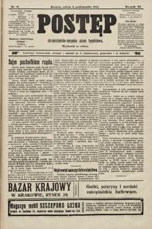 Postęp : chrześcijańsko-socjalne pismo tygodniowe. 1910, nr41