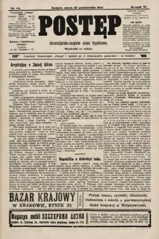 Postęp : chrześcijańsko-socjalne pismo tygodniowe. 1910, nr44