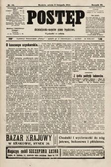 Postęp : chrześcijańsko-socjalne pismo tygodniowe. 1910, nr45